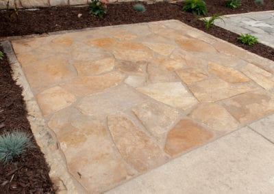 Landscaping Stone Showroom Sample