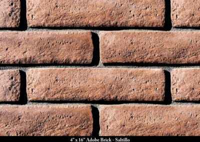 Adobe Brick Thin Brick Veneer Saltillo