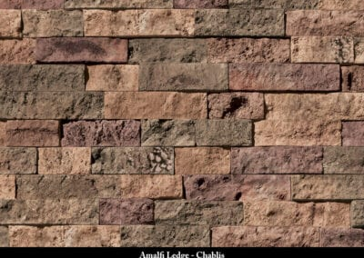 Amalfi Ledge Manufactured Stone Chablis
