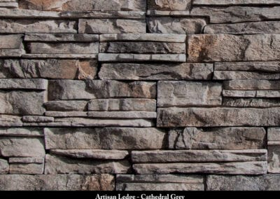 Artisan Ledge ManufacturedStone Cathedral Grey