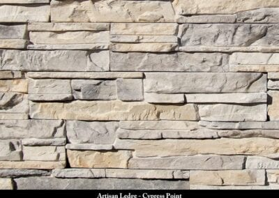 Artisan Ledge Manufactured Stone Cypress Point