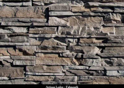 Artisan Ledge Manufactured Stone Falmouth
