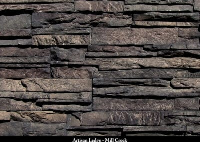 Artisan Ledge Manufactured Stone Mill Creek