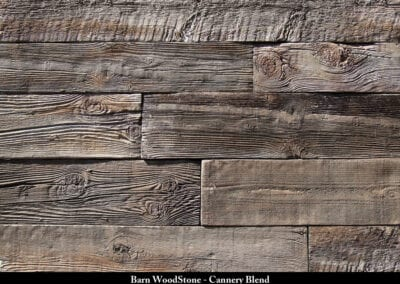 Barn Wood Stone Manufactured Stone Cannery Blend