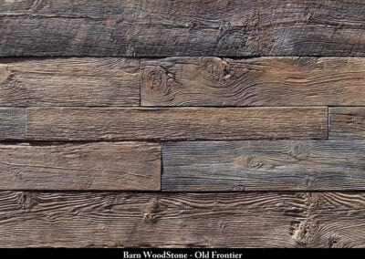 Barn Wood Stone Manufactured Stone Old Frontier