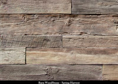 Barn Wood Stone Manufactured Stone Spring Harvest