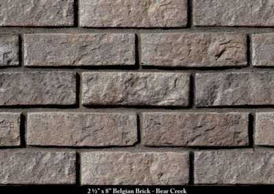 Belgian Brick Thin Brick Veneer Bear Creek