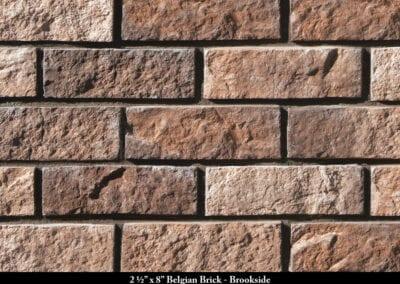 Belgian Brick Thin Brick Veneer Brookside