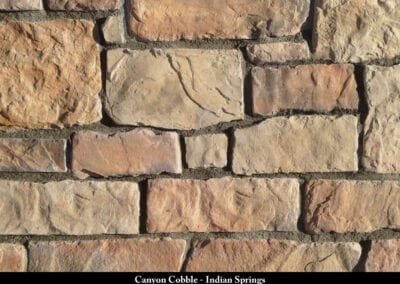 Canyon Cobble Manufactured Stone Indian Springs