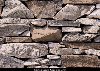 Canyon Ledge Stone Veneer Cape Cod Grey