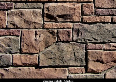 Carolina Rubble Manufactured Stone Chablis