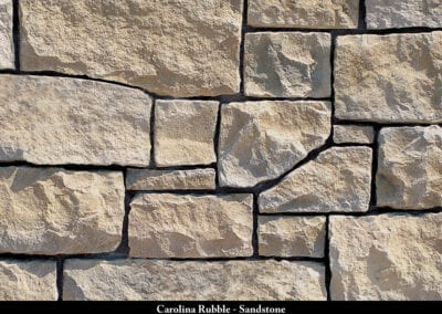 Carolina Rubble Manufactured Stone Sandstone