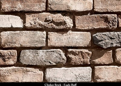 Clinker Brick Manufactured Stone Eagle Buff