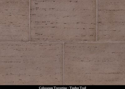 Colosseum Travertine Manufactured Stone Timber Trail