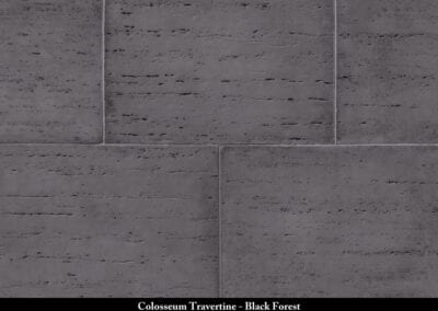Colosseum Travertine Stone Veneer Black Forest