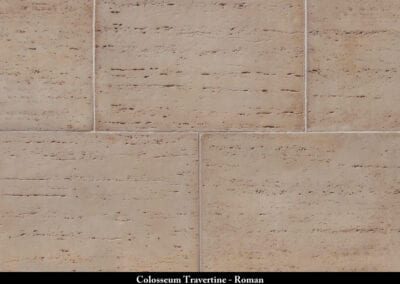 Colosseum Travertine Stone Veneer Roman