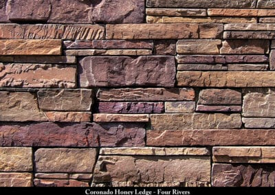 Coronado Honey Ledge Stone Veneer Four Rivers