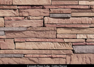 Coronado Honey Ledge Stone Veneer Golden Harvest