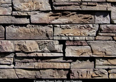 Coronado Honey Ledge Stone Veneer Grey Quartzite