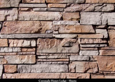 Coronado Honey Ledge Stone Veneer Shasta
