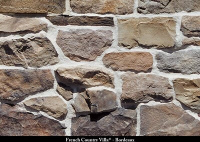 French Country Villa Stone Veneer Bordeaux
