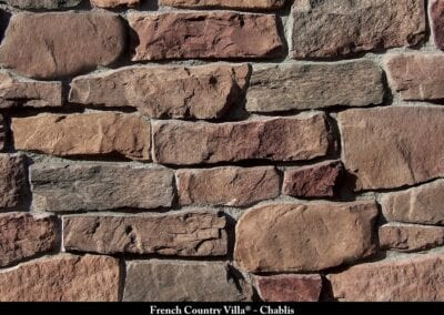 French Country Villa Stone Veneer Chablis