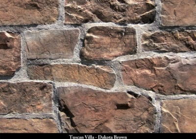 Tuscan Villa Stone Veneer Dakota Brown