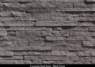 Coronado Strip Stone Stone Veneer Black Forest