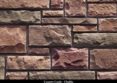 Country Castle Manufactured Stone Chablis