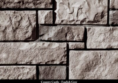 Country Castle Manufactured Stone English Grey
