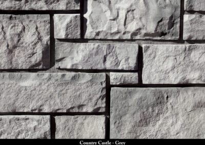 Country Castle Manufactured Stone Grey