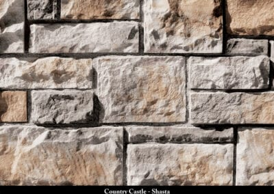 Country Castle Manufactured Stone Shasta