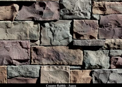 Country Rubble Manufactured Stone Aspen