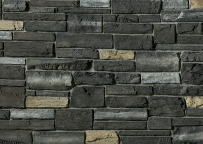 CS35 - Black Rundle - Country Ledgestone