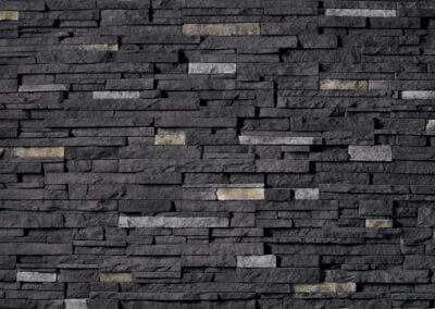 CS34 - Black Rundle - ProFit - Alpine Ledgestone