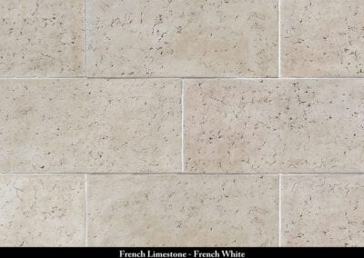 French Limestone Stone Veneer French White