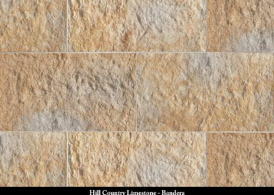Hill Country Limestone Manufactured Stone Bandera
