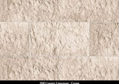 Hill Country Limestone Manufactured Stone Cream
