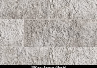 Hill Country Limestone Manufactured Stone Silver Ash