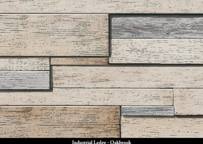Industrial Ledge Manufactured Stone Oakbrook