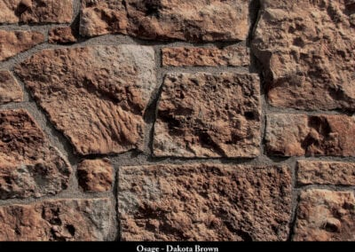 Osage Manufactured Stone Dakota Brown