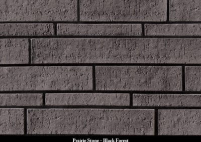 Prairie Stone Manufactured Stone Black Forest