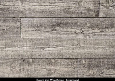 Rough Cut Wood Stone Manufactured Stone Deadwood