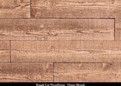 Rough Cut Wood Stone Manufactured Stone Honey Blonde