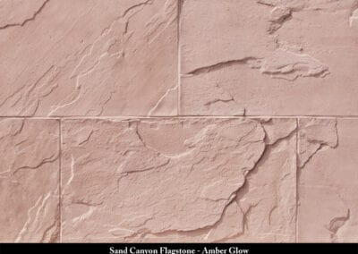 Sand Canyon Flagstone Manufactured Stone Amber Glow