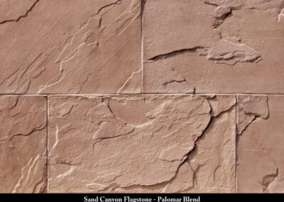 Sand Canyon Flagstone Manufactured Stone Palomar Blend