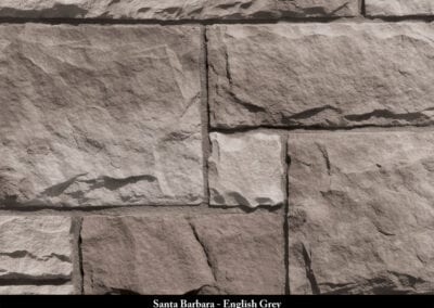 Santa Barbara Manufactured Stone English Grey