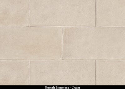 Smooth Limestone Stone Veneer Cream