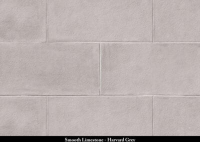 Smooth Limestone Stone Veneer Harvard Grey