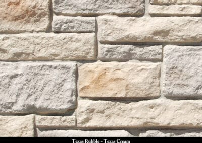 Texas Rubble Manufactured Stone Texas Cream